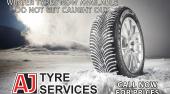 Winter Tyres Now in Stock